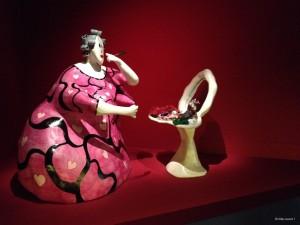 La toilette Niki de Saint Phalle